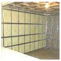 Sound Insulation Walls made by FRFPC