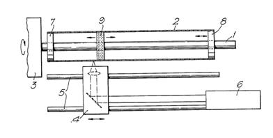 schematic view of laser engraving machine