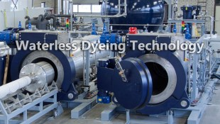 Waterless Dyeing Technology