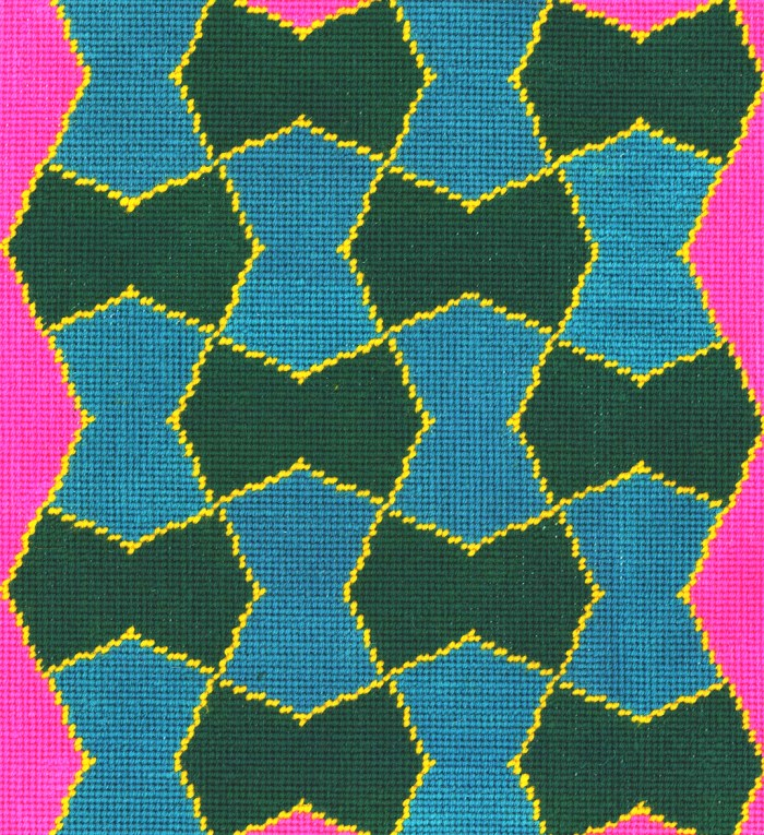 Francis Designs Geometric Needlepoint 1
