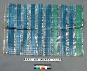 Sample made for American fiber artist Gerhardt Knodel, ca. 1980