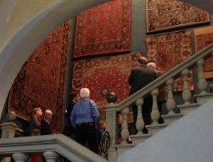 The Museo Bardini carpet collection. Photo Credit: Elena Phipps