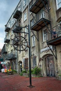 Savannah's Historic District. Photo: Photoartel