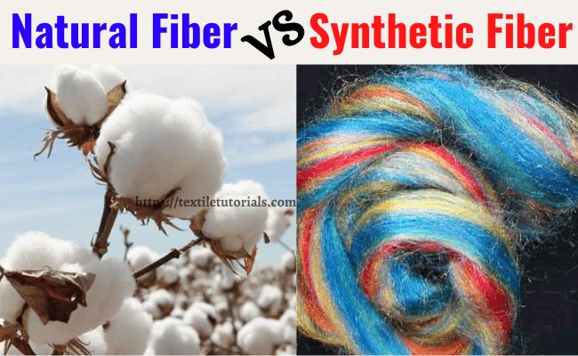 Natural fibre VS man-made fibre