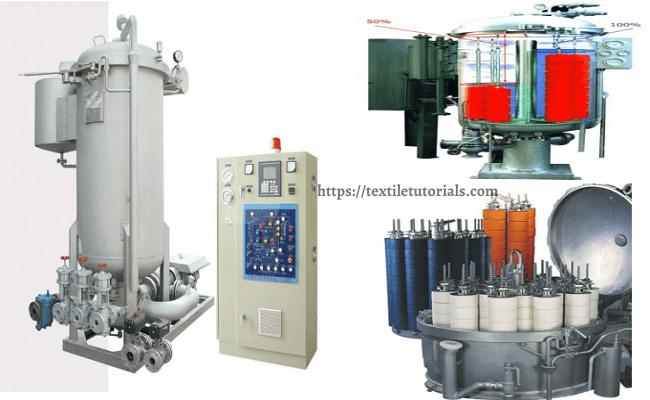 Textile dyeing machine list