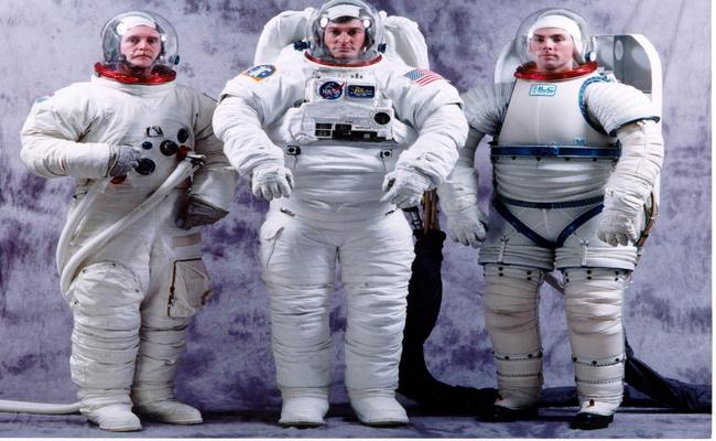 Space shuttle protective clothing