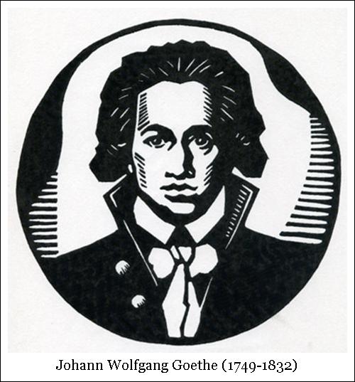 Johann Wolfgang Goethe (1749-1832)