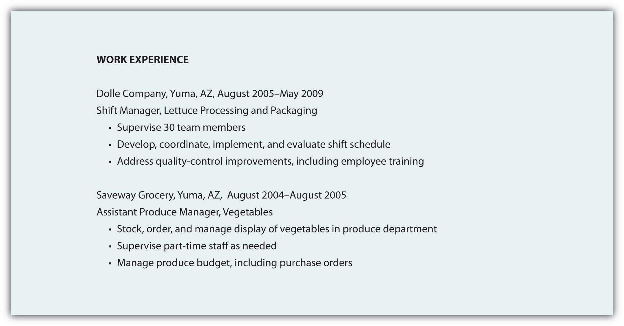Résumé Business Communication Written & Verbal