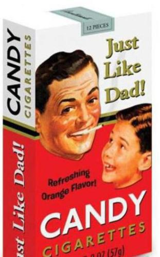 Детские сигареты: обычная сладкая конфета или попытки производителей навязать вредные привычки с детства?