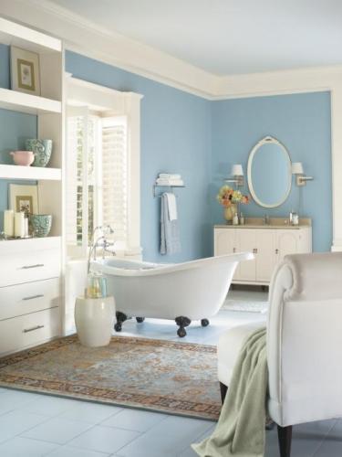 Краска для ванной комнаты: особенности покрытия