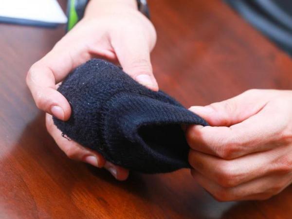 Три способа того, как складывать носки