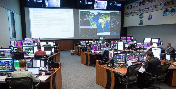 Информация о центре управления полетами