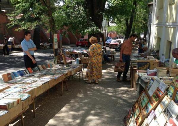 Книжный рынок в Харькове