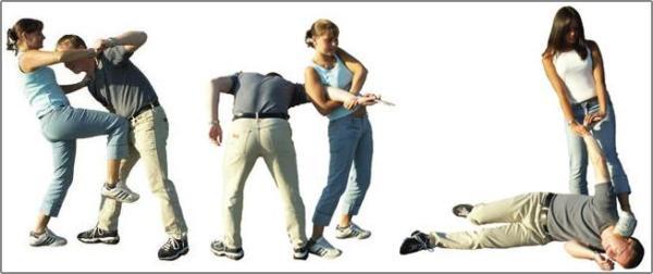 Простые и эффективные приемы самообороны на улице