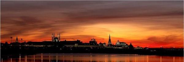 Время восхода и захода солнца в Казани