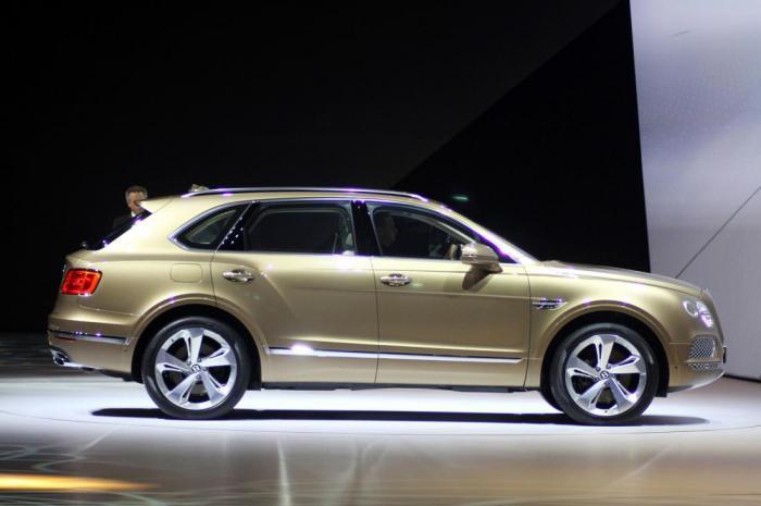 Bentley Bentayga поможет компании побить рекорд в 2016 году?