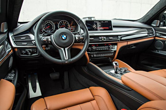 BMW X6 M: изящный и дерзкий