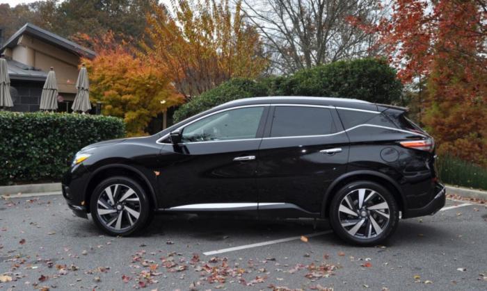 Новый Nissan Murano Platinum AWD: стильный, удобный, оптимистичный!