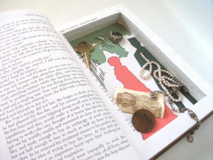 Как использовать старые книги? 21 вариант поделок