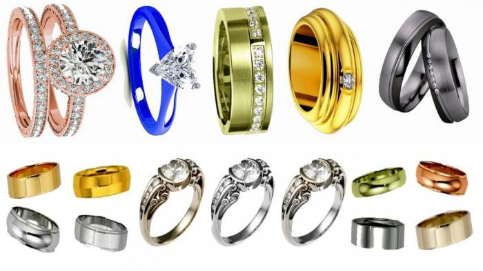 Какого цвета бывает золото и почему?