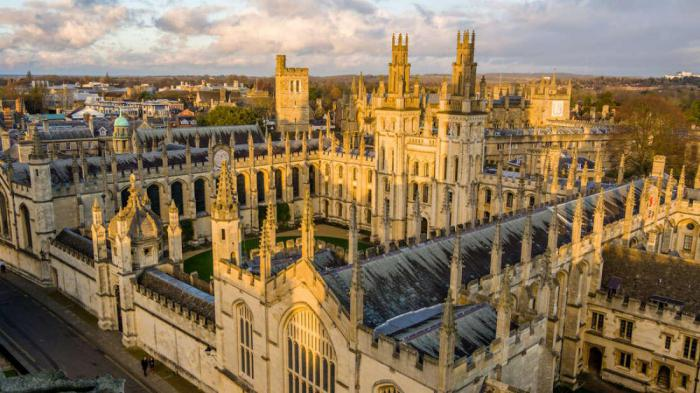 Сможете ли вы поступить в Оксфордский университет?