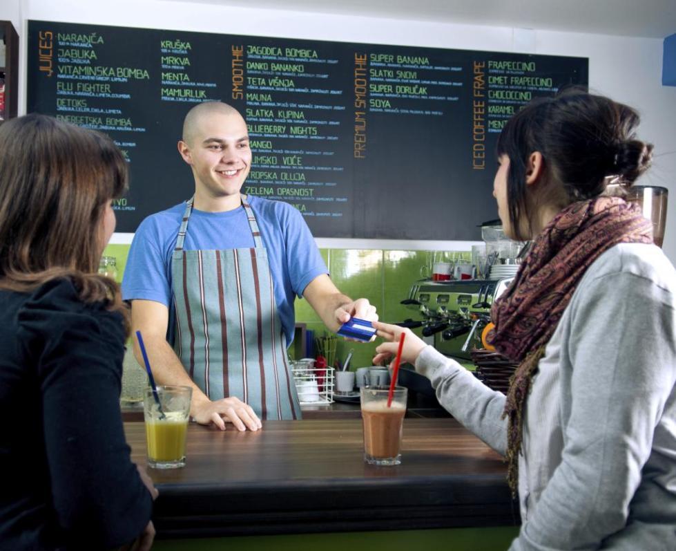 акции в кафе