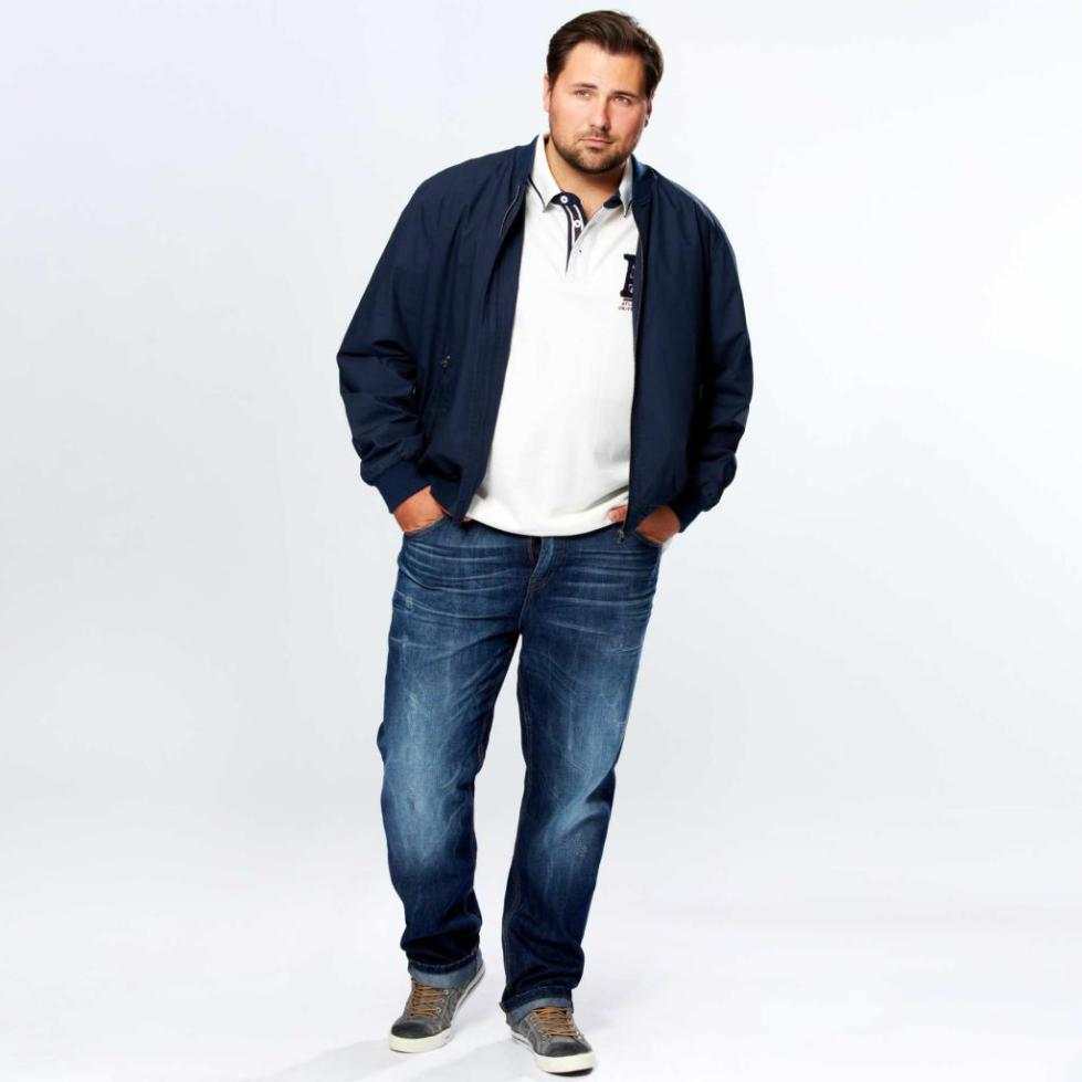 Модный образ для крупного мужчины