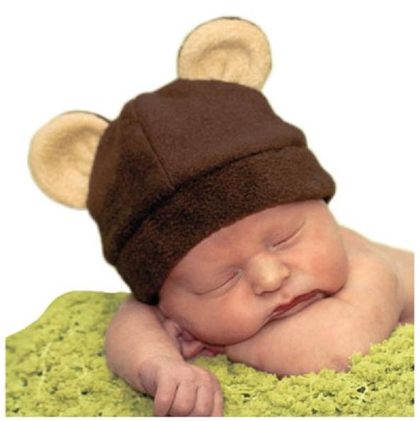 шапочка - мишка для малыша