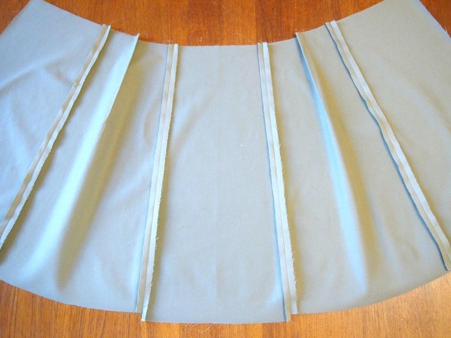 Процесс создания юбки