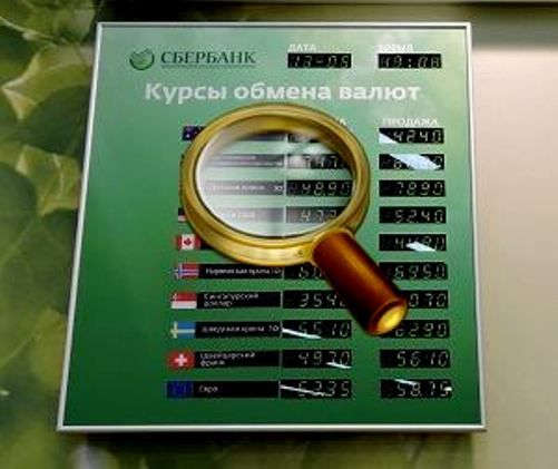 Отзывы об обмене валют в Сбербанке