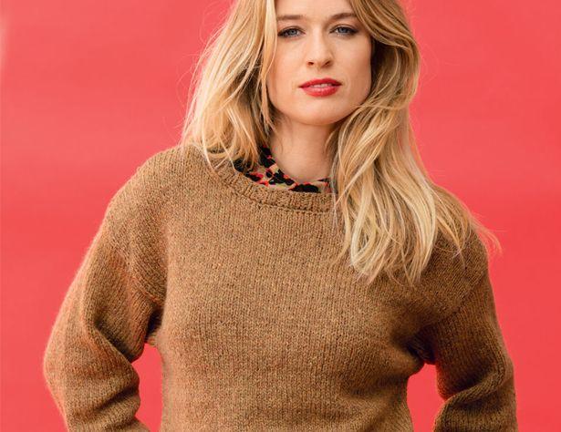 как сделать пуловер оверсайз