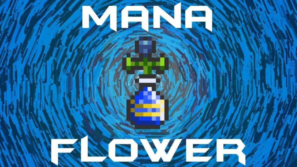 Внешний вид цветка маны