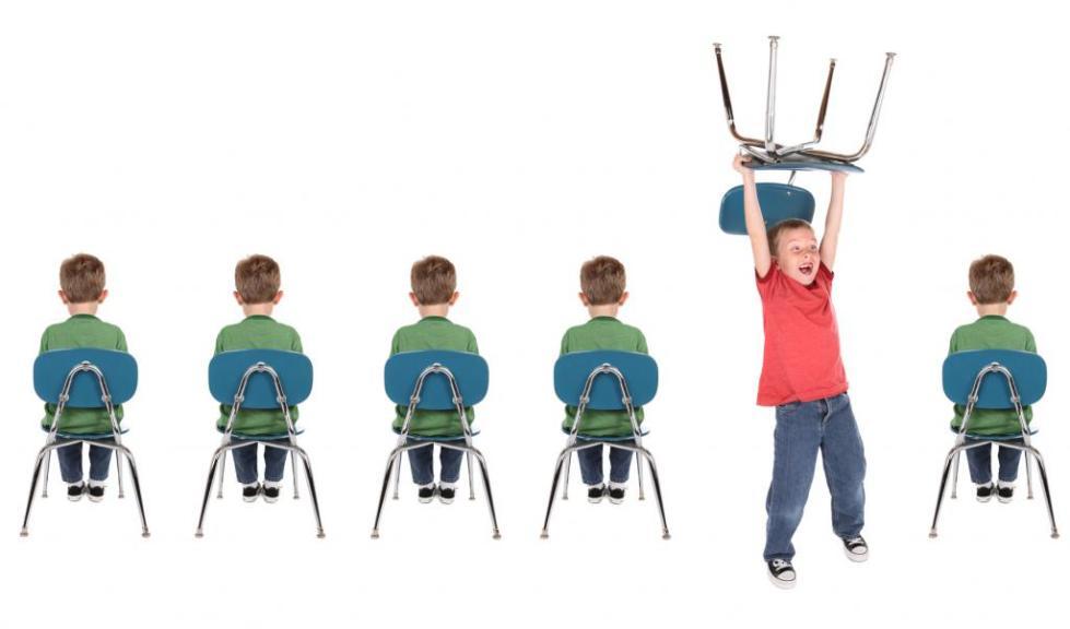 Неусидчивый ребенок в школе
