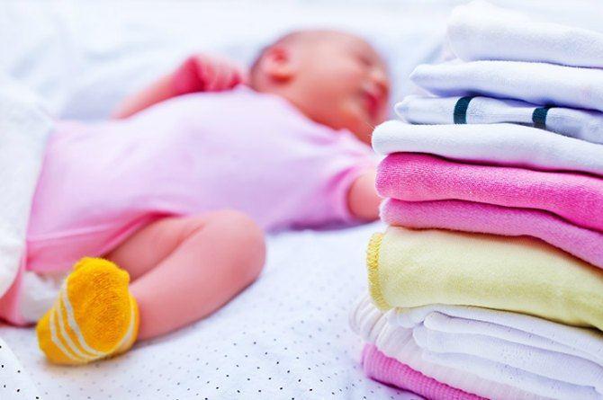 Порошок для стирки белья новорожденного