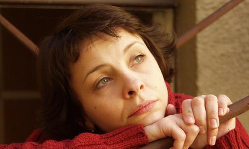 Татьяна Матюхова на съемках