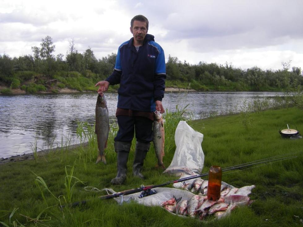 Рыбалка на Печоре.