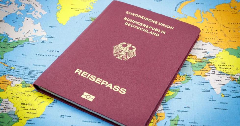 немецкий паспорт фото