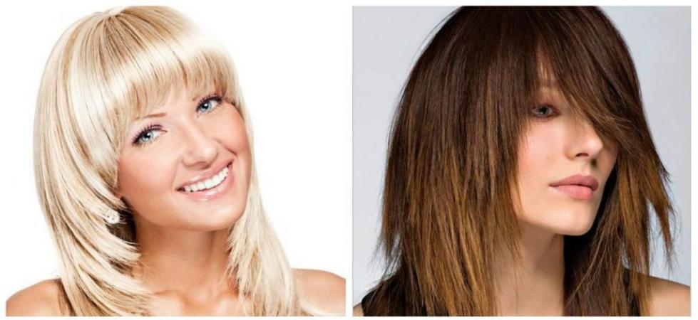 Праздничные укладки на средние волосы каскад