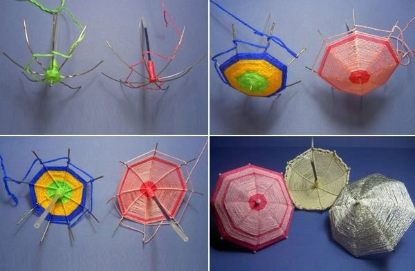 зонты из ниток