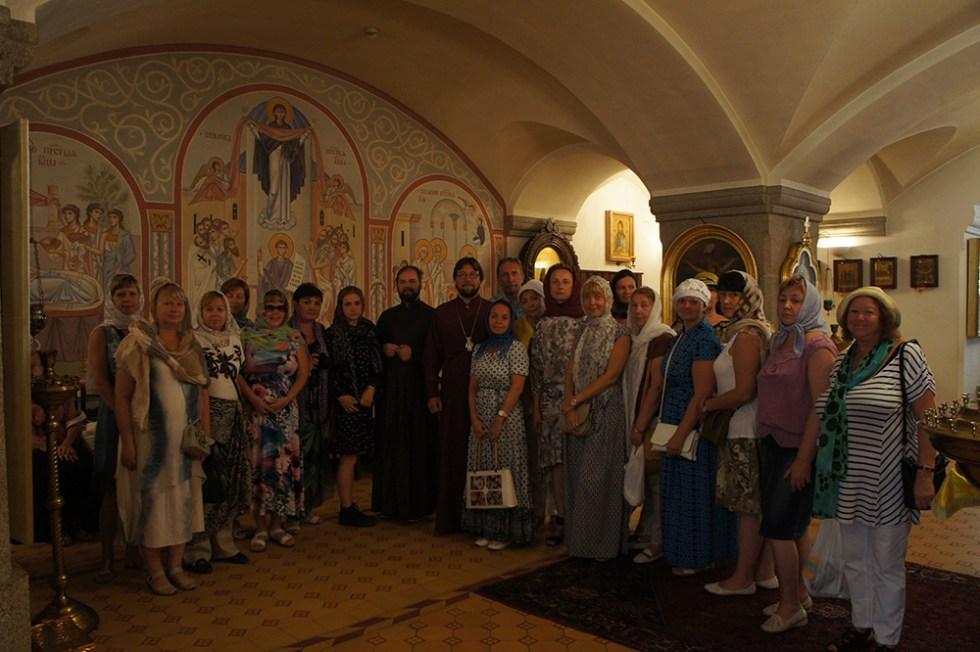 Брестские паломники в поездке по святым местам