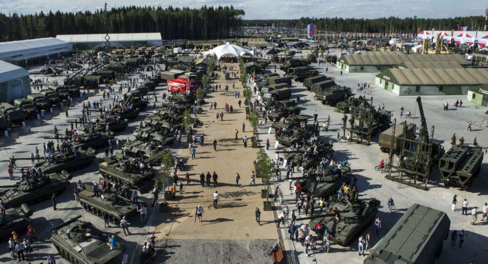 военная выставка