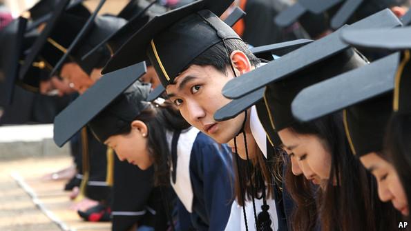 Студенты Южной Кореи