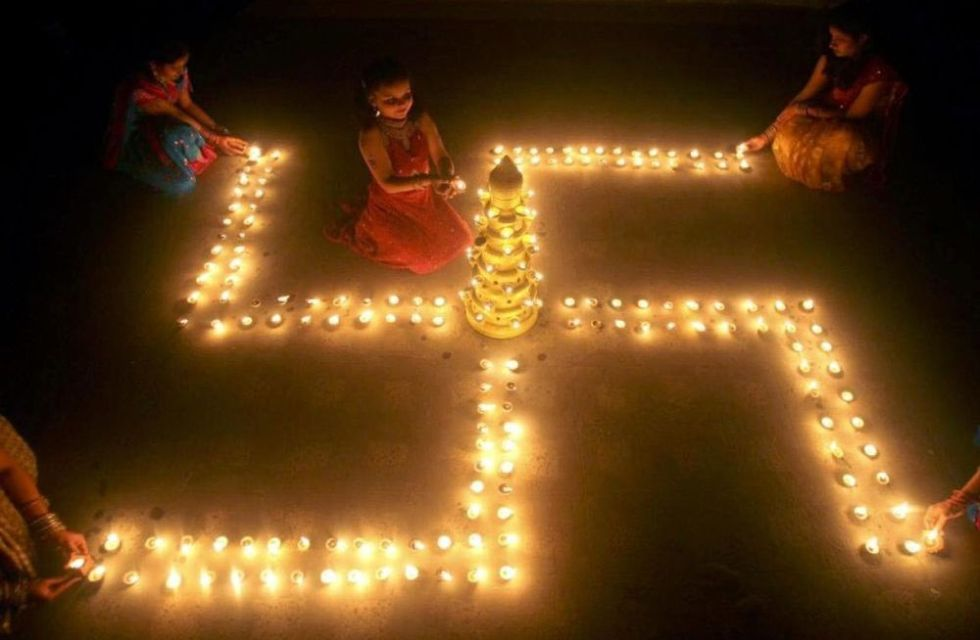 Свастика - символ индуизма