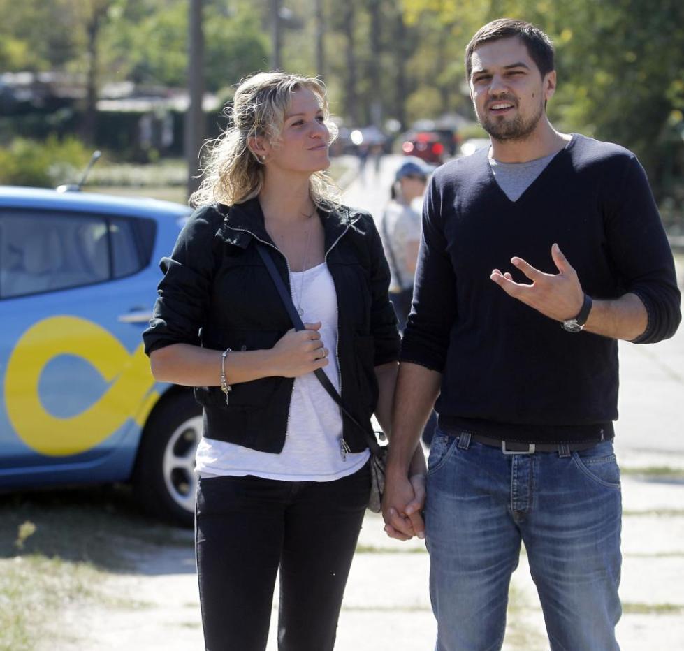 Евтушенко с женой