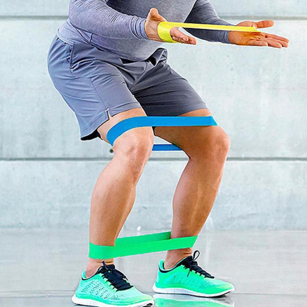 Упражнения с резиновой петлей