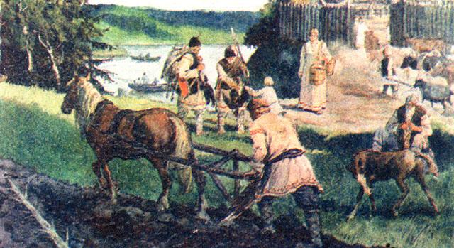 Родовая община восточных славян