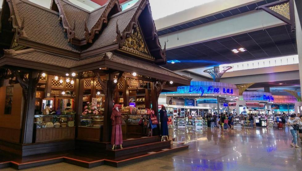 Дьюти фри в аэропорту Дон Муанг