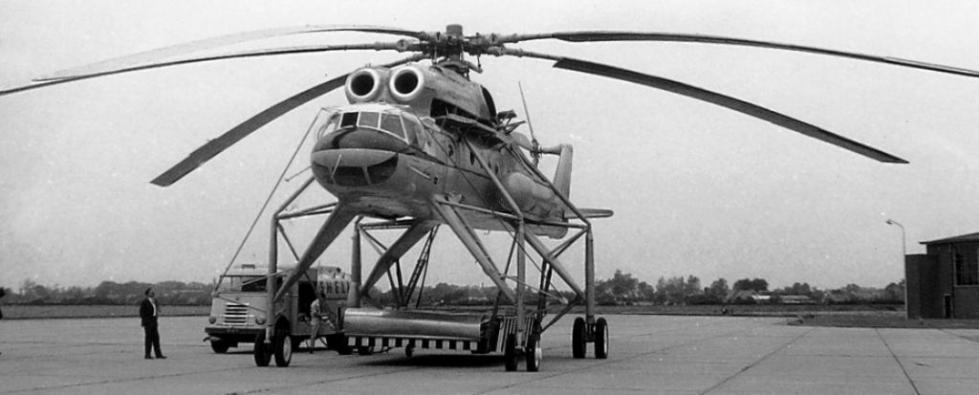 Ми-10 на погрузке