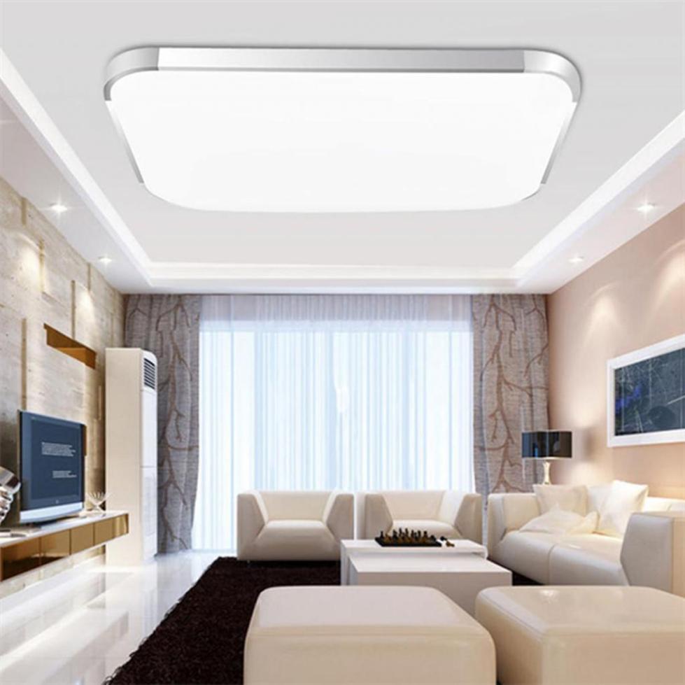 Освещение потолка в комнате
