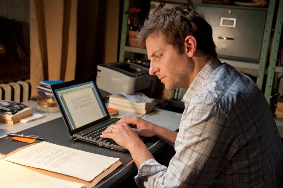 Писатель за работой